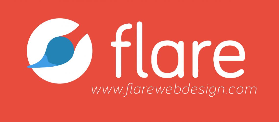 Flare Web Design Logo 2018